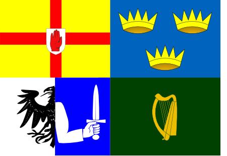 Drapeau des Quatre Provinces